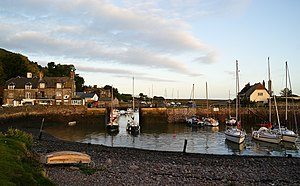 Porlock Weir - Image: Porlock Weir harbour