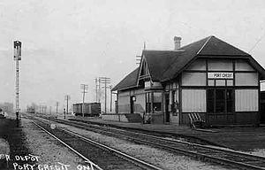Port Credit GO Station - The GTR station in 1912