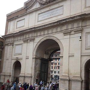 Piazza del Popolo - Porta del Popolo