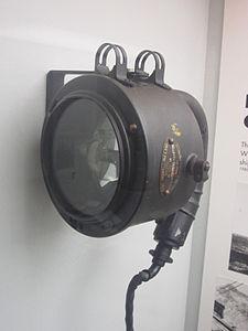 Portable Aldis lamp, Merseyside Maritime Museum.jpg