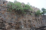 Portion of City wall near which Brig.Gen. John Nicholson was mortally Wounded on 14th Sept., 1857.