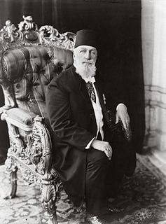 last Ottoman caliph and painter