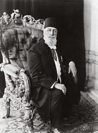 Abdulmecid II is the 150th and last Caliph of Islam from Ottoman dynasty Portrait Caliph Abdulmecid II.jpg
