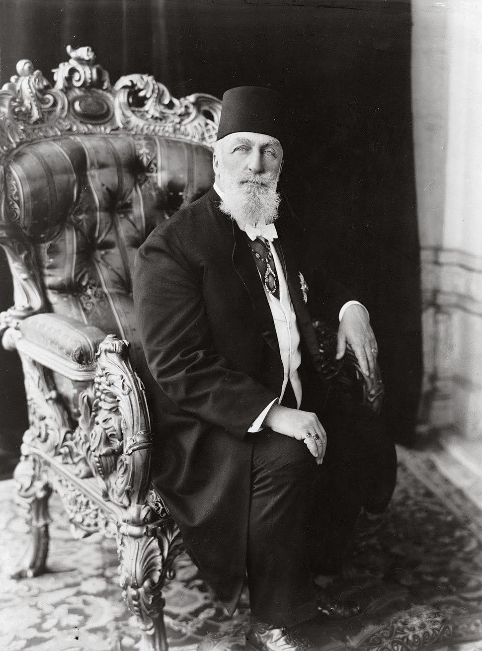 Portrait Caliph Abdulmecid II