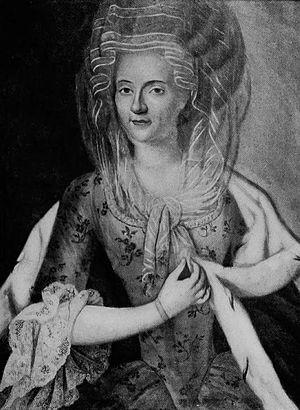 Anna Canalis di Cumiana - Image: Portrait of Anna Canalis di Cumiana, Marchesa di Spigno by an unknown artist