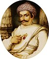 Portrait of Hyder Beg Khan, the Minister to the Nawab of A Wadh, Asaf-Au-Daula crop.jpg