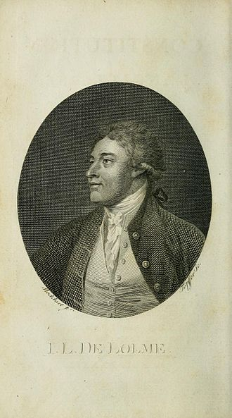 """Federalist No. 70 - Jean-Louis De Lolme, quoted in Federalist No. 70 as saying, """"the executive power is more easily confined when it is ONE"""""""