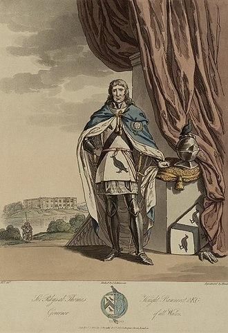 Rhys ap Thomas - An artists impression of Sir Rhys ab Thomas