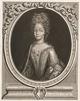 Portrait of The Princess of Savoy at the time of her arrival at Versailles by Simon Thomassin.jpg