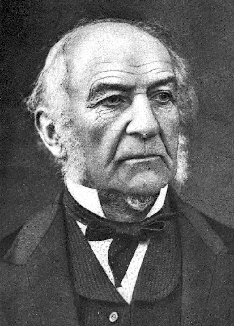 Portrait of William Gladstone