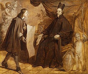 Portrait of a Prelate and a Young Man