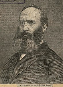 Portrait of diweddar Mr. Peter Maelor Evans (4673285).jpg