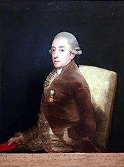 Portrait of Bernardo de Iriarte