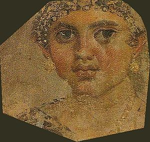 Tomb of Aline - Portrait of the middle girl