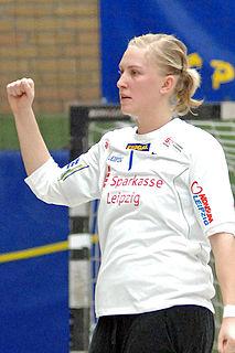 Therese Bengtsson Swedish handball goalkeeper
