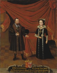 Portraits of Duke Erik I of Brunswick-Calenberg and Duchess Elisabet, Princess of Brandenburg