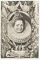 Portret van Isabella Clara Eugenia, infante van Spanje Ferdinandus IIus et IIIus Imperatorum Domus Austriacae (serietitel), RP-P-2016-122.jpg