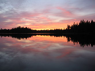 Minnesota - Pose Lake in the Boundary Waters Canoe Area Wilderness