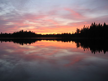 Pose Lake in the Boundary Waters Canoe Area Wilderness Pose lake Minnesota.jpg