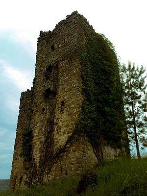 Posert Castle - Ruins of Posert Castle in 2009