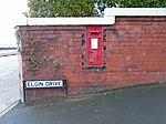 Post box on Elgin Drive, Wallasey.jpg
