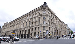 Post office street of Louvre (Paris).jpg
