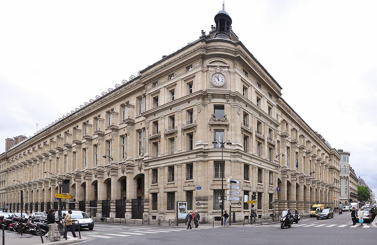 Poste centrale du louvre wikip dia - Ouverture bureau de poste paris ...