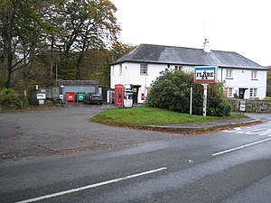 English: Postbridge: The Post Office Stores an...
