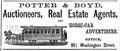 Potter BostonDirectory 1868.png