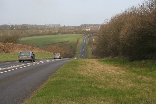 Potter Hill near Melton Mowbray - geograph.org.uk - 142752