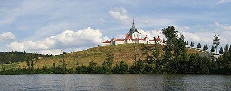 Poutní kostel sv. Jana Nepomuckého ve Žďáru nad Sázavou