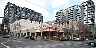 Powells Books Bookstore chain selling new and used books
