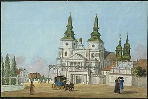 Poznań Cathedral - Image: Poznań Katedra Alberti