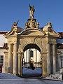 Praha, Břevnovský klášter, brána 01.jpg