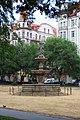 Praha, Smíchov, fontána na náměstí 14. října.JPG