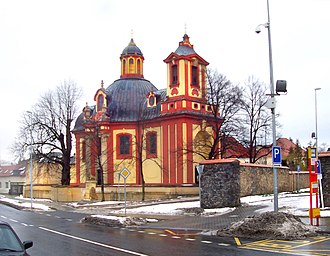 Kunratice (Prague) - Church of St. James the Great in Kunratice