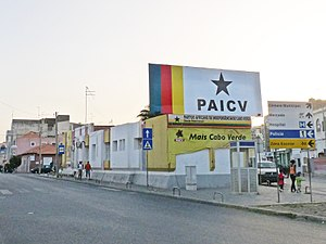African Party for the Independence of Cape Verde - PAICV HQ in Praia