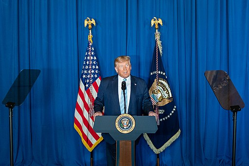 US President Donald Trump brags about his latest foreign policy blunder, January 3, 2020 (public domain)
