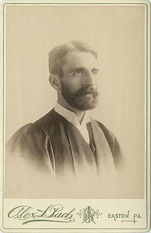 Ethelbert Dudley Warfield - Image: President of Lafayette College, Ethelbert Dudley Warfield