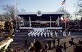 Presidential reviewing stand at the Inaugural Parade for President George H.W. Bush on January 20, 1989, Washington, D.C LCCN2011632626.tif