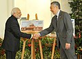 Prime Minister Narendra Modi and PM Loong jointly release the India Singapore stamps.jpg