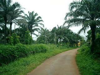 Awka-Etiti Town in Anambra State, Nigeria