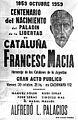 Propaganda del homenaje del Grup Juventut Catalana a Francesc Macià - 1959.jpg