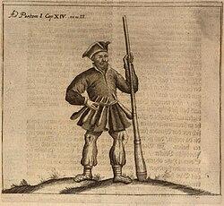 Prußischer Krieger 1684.jpg