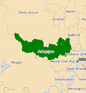 Electoral district of Ashgrove - Ashgrove (2008—2017)