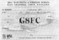 QSL G8FC RAF Cranwell.png