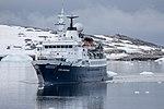 Quark Expeditions Ocean Adventurer Lemiare Channel Antarctica 4 (33461154408).jpg