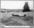 Queensland State Archives 3252 Commencement of fill between retaining walls south approach March 1936.png