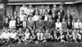 Queensland State Archives 3832 Scholarship Class Kelvin Grove Boys State School on a visit to the Department of Agriculture and Stock April 1931.png