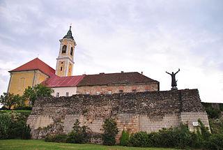 Vác Town in Pest, Hungary
